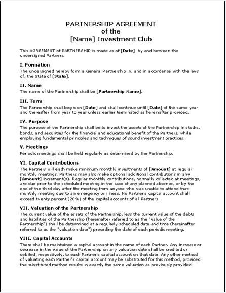 Property Contract Template Free California Sublease Agreement - partnership agreement template free download