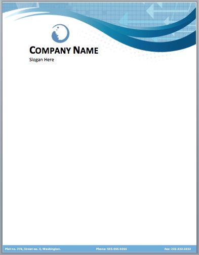 10 Professional Letterhead Samples Print Paper Templates