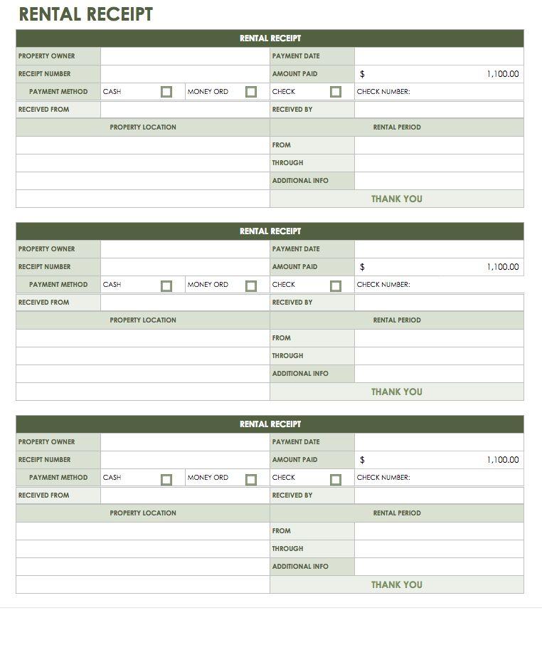 google docs rental resume template