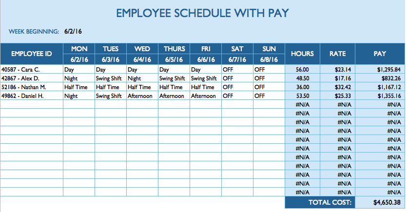 Daily Task Sheet For Employee printable receipt template - employee to do list template