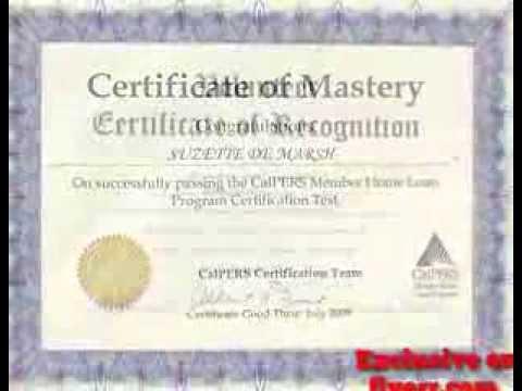 Fake Diploma Certificate Free Download printable receipt template