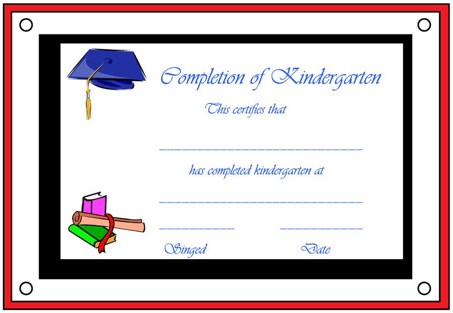 image about Printable Preschool Graduation Certificates titled Commencement Certification Template Totally free