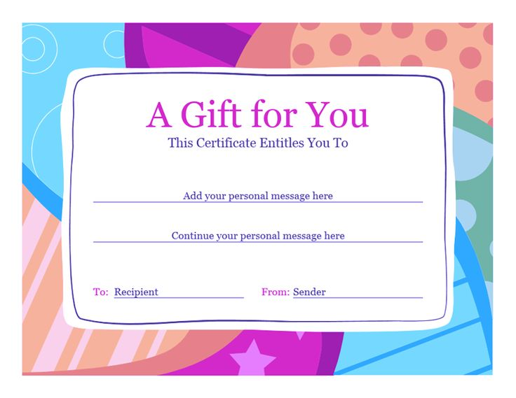 Gift Voucher Template Word Free Download printable receipt template