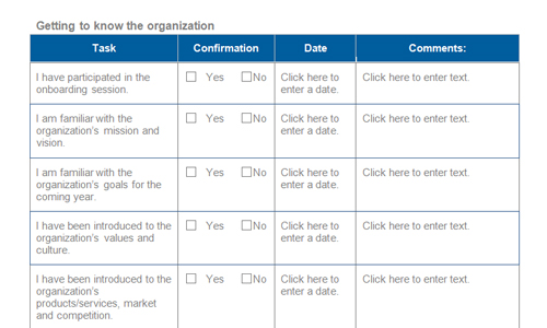 Onboarding Checklist Template 15 Free Word Excel PDF - oukasinfo - sample new hire checklist template