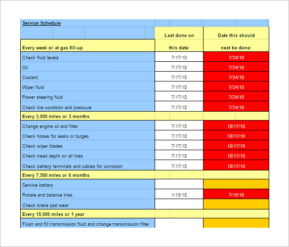 Building Maintenance Plan Template Download Gallery - Template