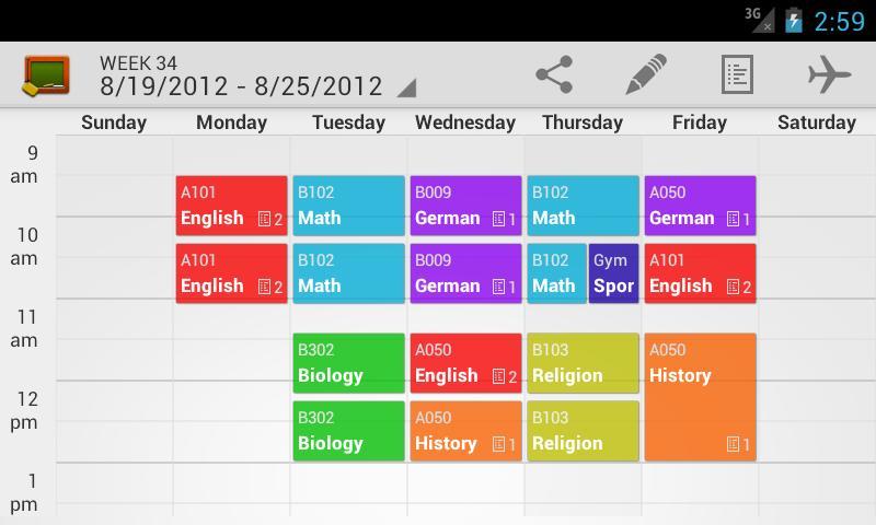 free work schedule creator