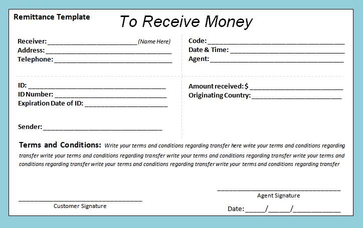 Cash Receipt Template Doc printable receipt template