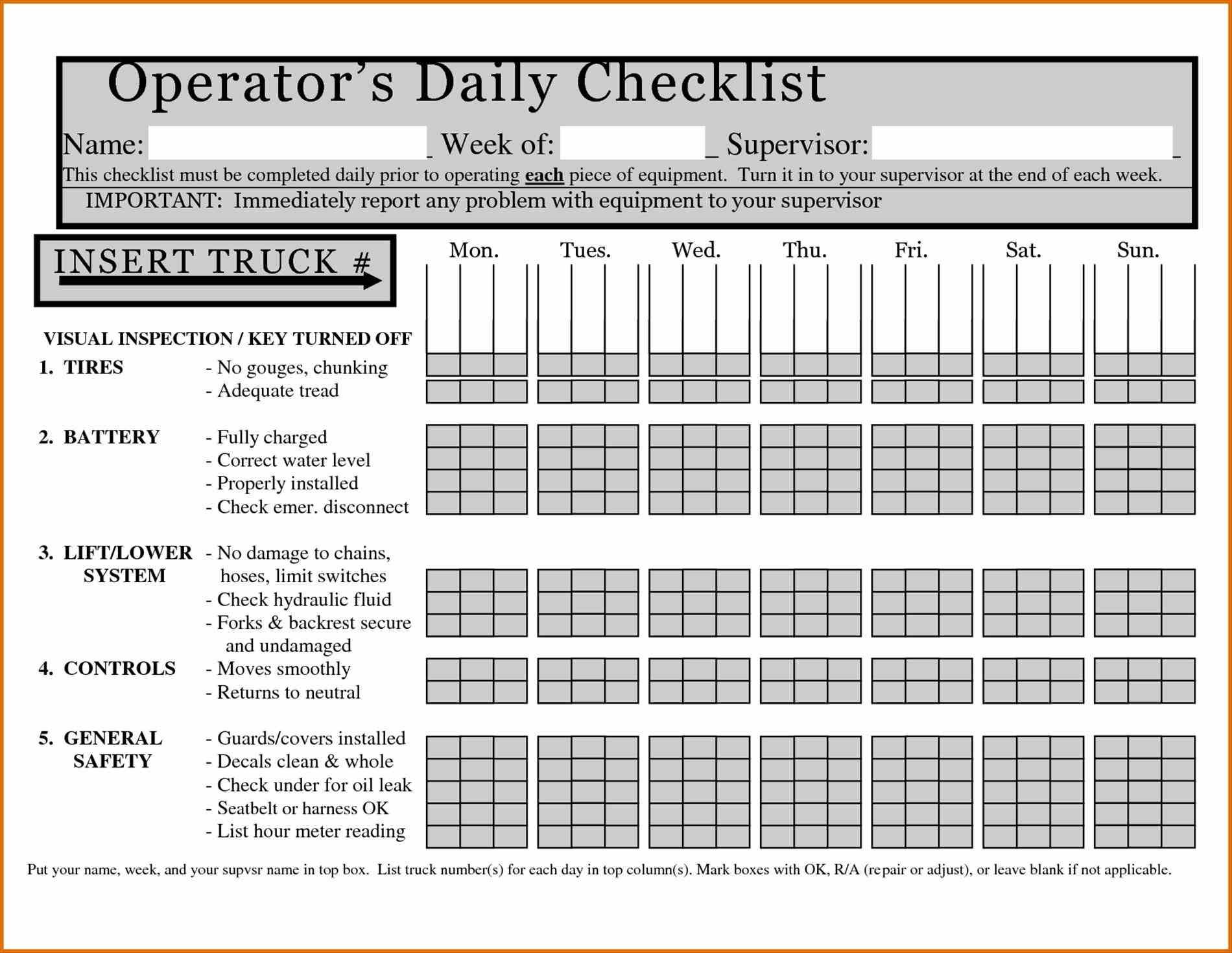 housekeeping schedule template