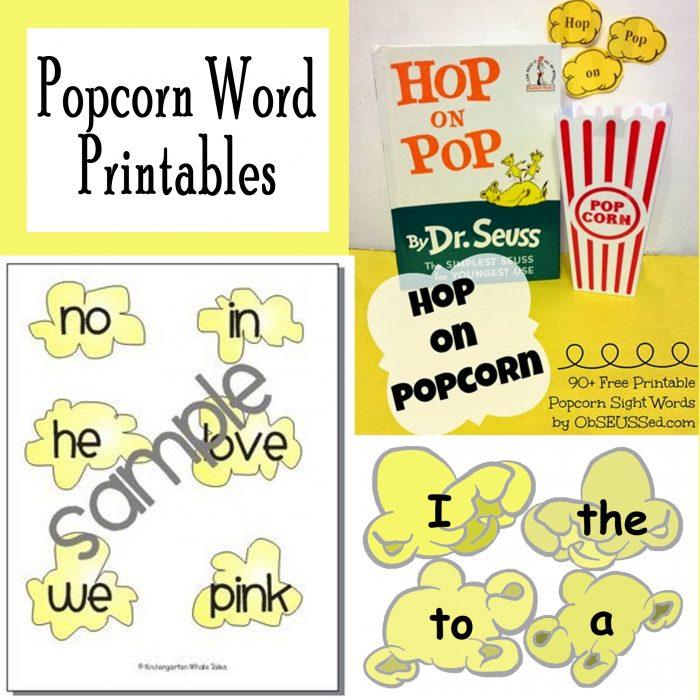 Printable Popcorn Sight Words Free Printables - Printables 4 Mom