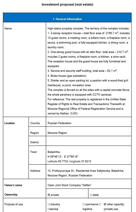9 Free Sample Real Estate Proposal Templates - Printable Samples