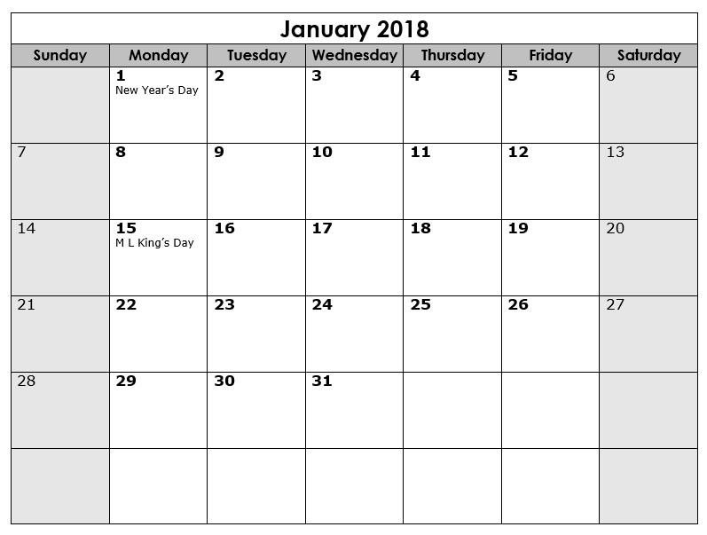 Printable Calendars Sample - printable calendar sample