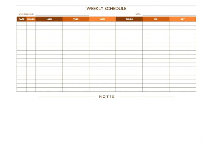On Call Rotation Schedule Template printable schedule template