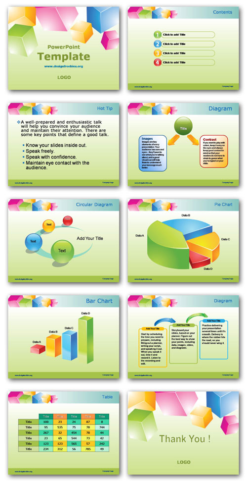 Powerpoint Template Free Design printable schedule template