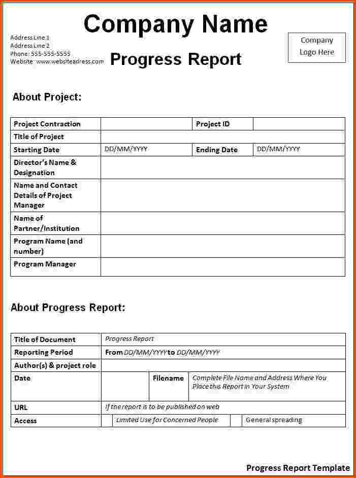 Project Report Template Word printable schedule template