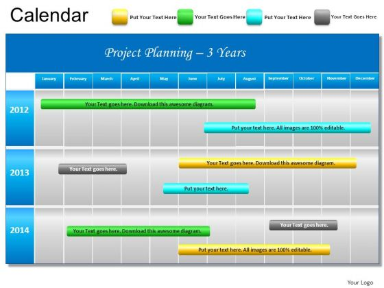 Project Schedule Template Powerpoint printable schedule template