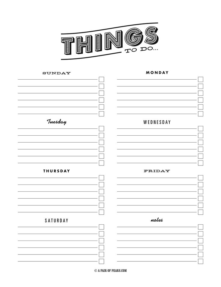 PRINT-To-Do-List-Template