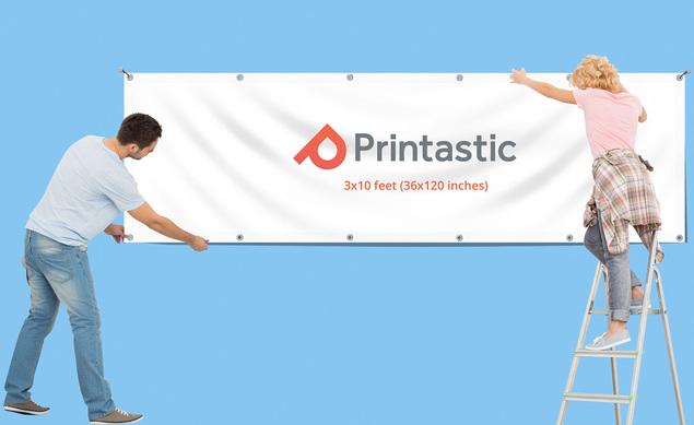 3x10 Banners Custom Printed 3x10 Vinyl Banner 4470