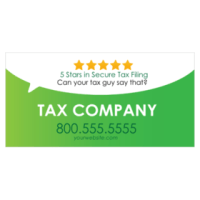 Tax Service Signs For Custom Tax Banners