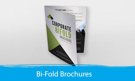 Bi Folded Brochure - Print Depot