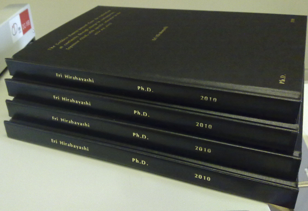 Dissertation in partial fulfillment of the requirements for the degree ...