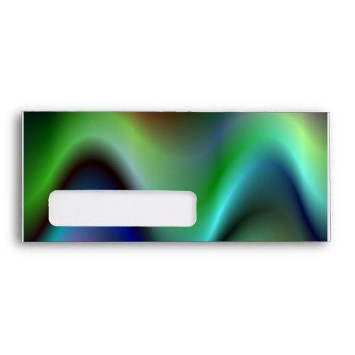 Wave Windowed Envelopes - PrintedGiftnet