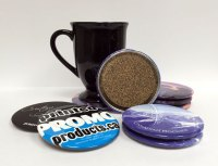 NEW: Hard Top Drink Coasters | Printed Promo Products Canada
