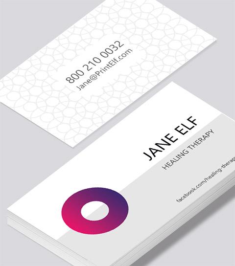 Dentist Appointment Card - Modern Design
