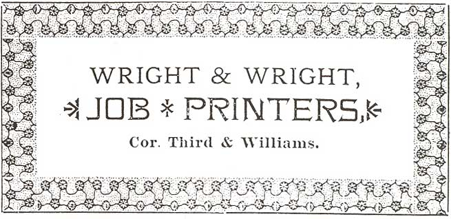 Wright Brothers printing business Type Cases Pinterest - geometric sequence example