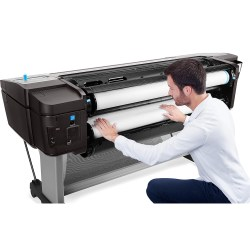 Small Crop Of Hp Wide Format Printer