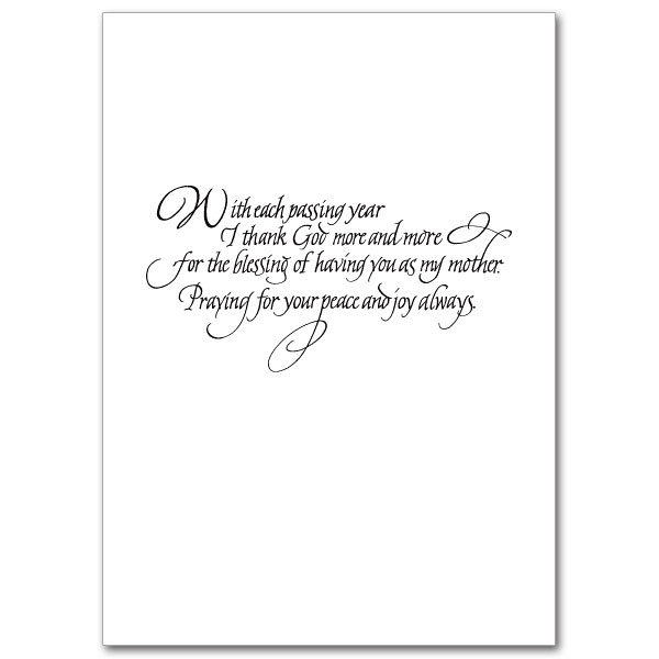 To Mom on This Mother\u0027s Day Mother\u0027s Day Card