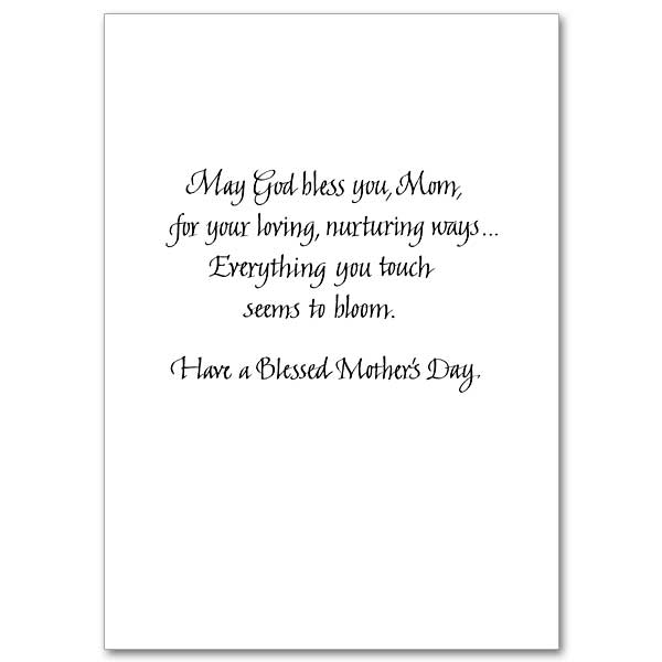 Bouquets of Blessings Mother\u0027s Day Card