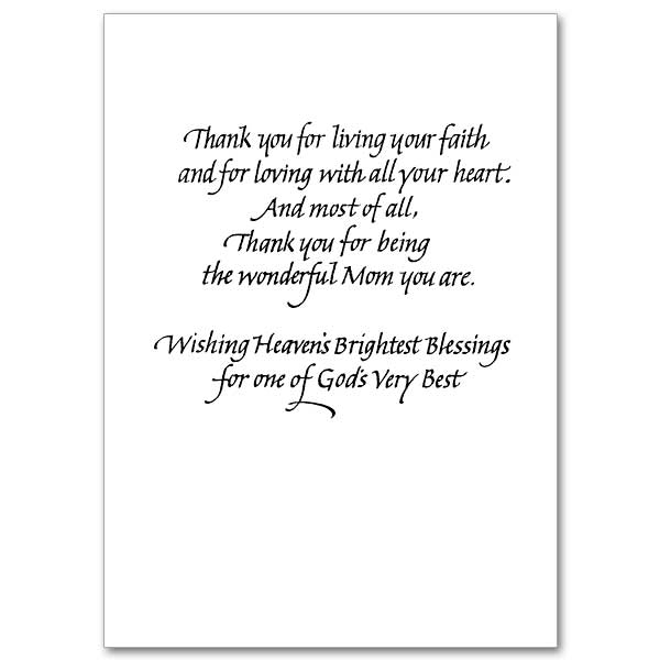 Happy Mother\u0027s Day, Mom Mother\u0027s Day Card