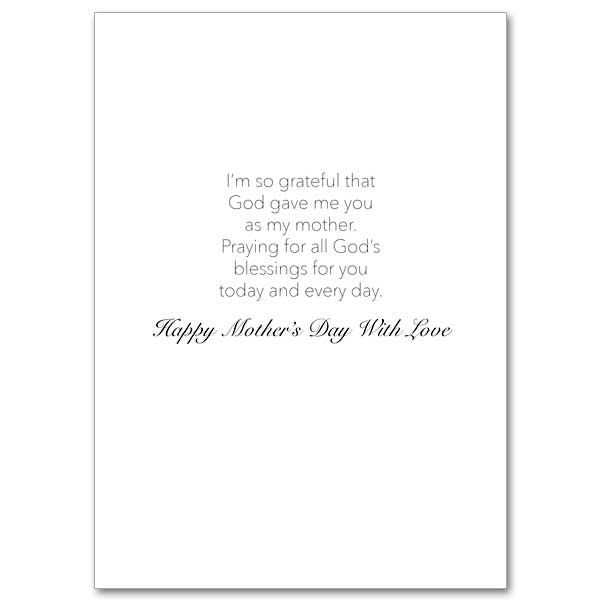 Mother\u0027s Day Prayer Mother\u0027s Day Card