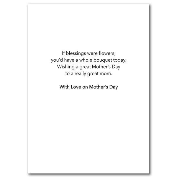 On Your Day, Mother Mother\u0027s Day Card
