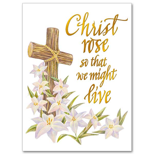 New Life, New Joy Easter Card