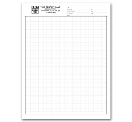 1/4 Inch Engineering Graph Pads 205 At Print EZ