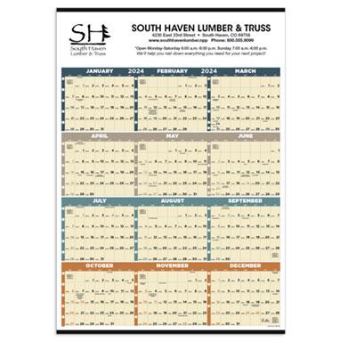 Time Management Full-Year Calendars PrintGlobe
