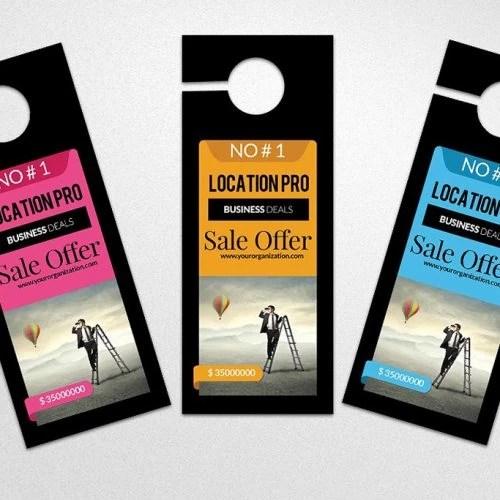 Door Hangers Affordable Door Hanger Marketing Printing Brooklyn