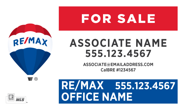 Printing Connection · RE/MAX For Sale Signs - sale signs