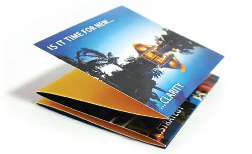 Custom Size Brochure Printing