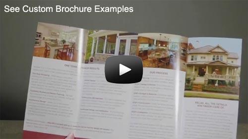 Brochure Printing - Custom Brochures Printed and Mailed