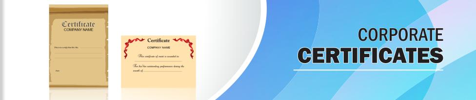 Certificates Printing - Design Custom Certificate Templates with