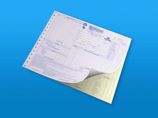 Custom Business Forms Carbon Copies Custom Invoices - custom business invoices