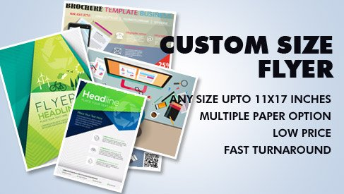 Custom Size Flyer - PrintPapa