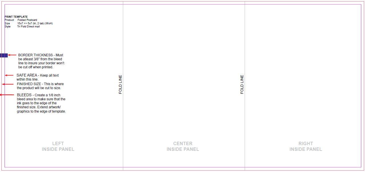 15 Fold Types For Every Brochure - Printaholiccool box templates