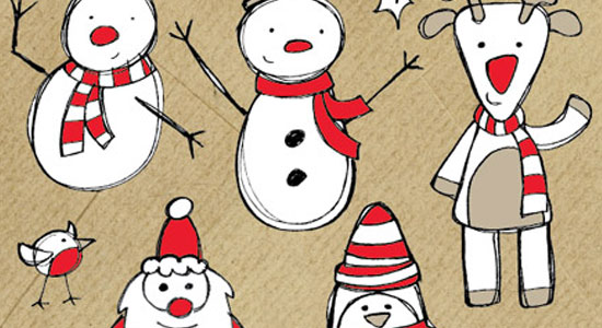 Best Free Christmas Vectors for Holiday Design PrintPlace