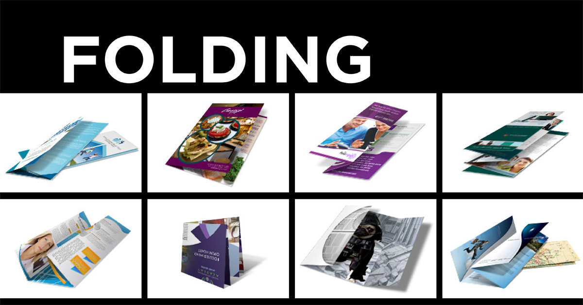 8 folding styles for brochure printing and more PrintPlace