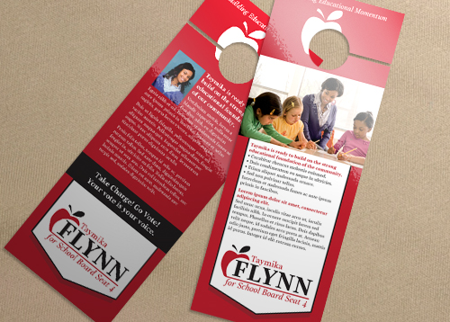 Door Hanger - Education Apple ID#5427 PrintPlace