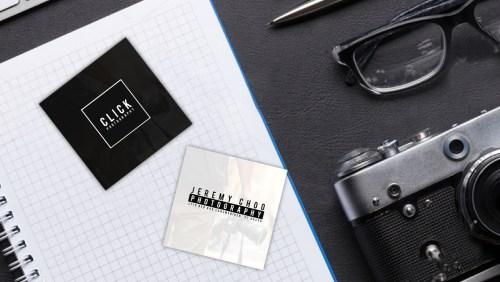 Medium Of Square Business Cards