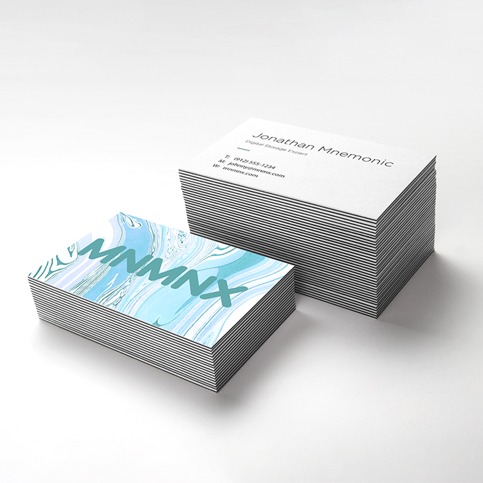 Extra Luxury and Ultra Thick Business cards Print Toronto Print